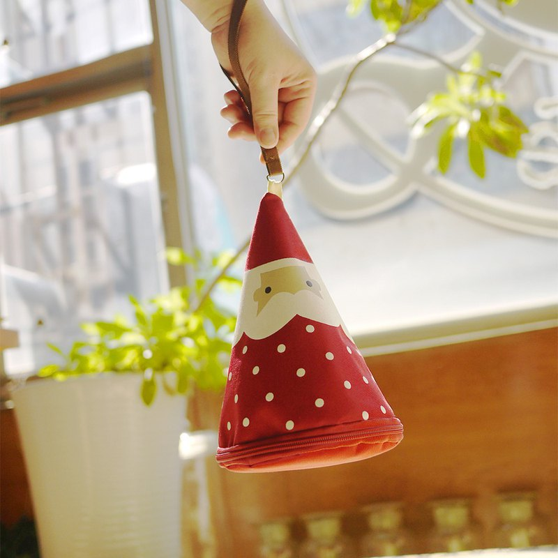 Christmas gift / Santa Claus (waterproof bag + coin purse)