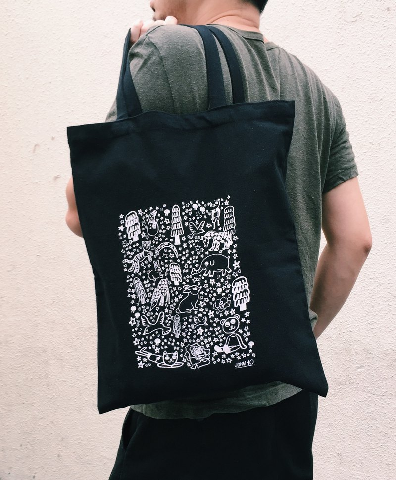 Meatie Tote bag (black)