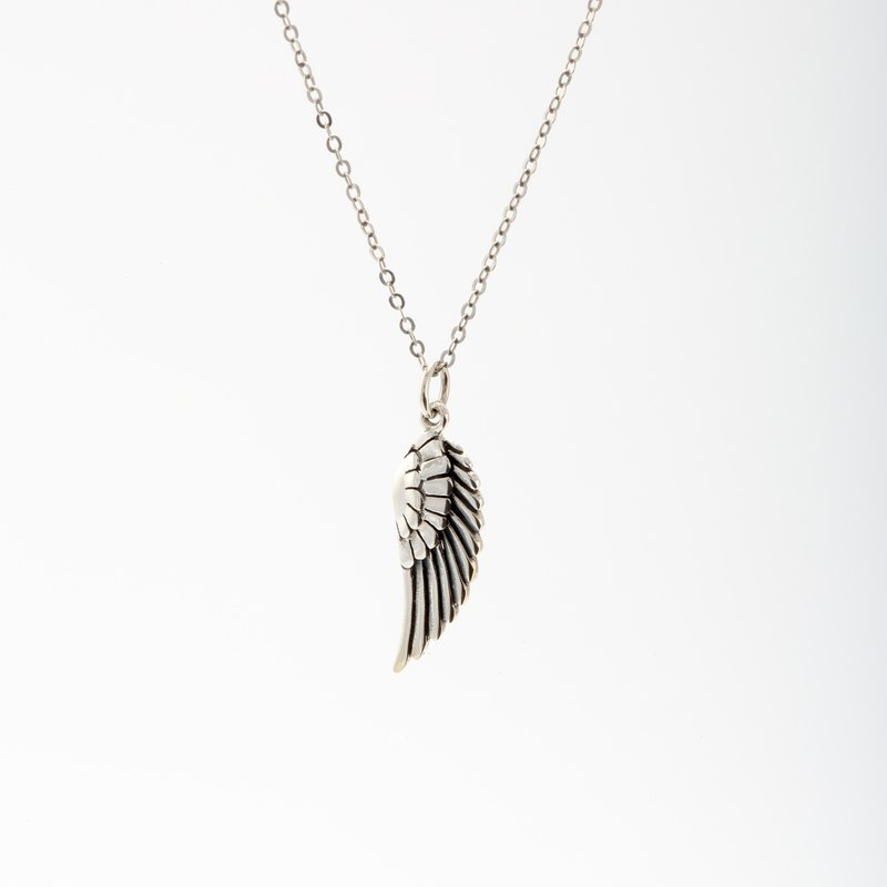 Angel Wing s925 sterling silver necklace Valentine's Day gift