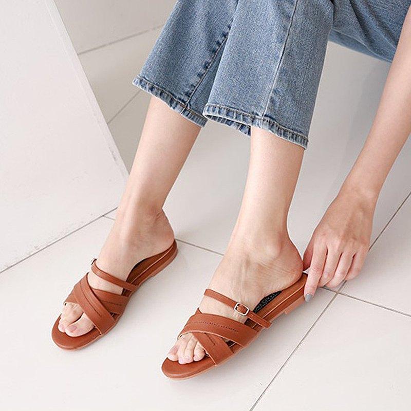 PRE-ORDER 韓國人手製 MACMOC Heizle (BROWN) 涼鞋