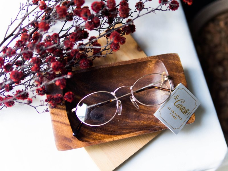 Kawamiyama - Hiroshima Youth Girl Love Letter Gold Sculpting Mirror Oval Eyeglasses Japan Japan Student Oval/glasses