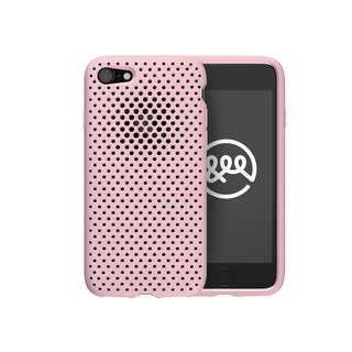 AndMesh iPhone 7/8 Japan QQ network soft crash protection cover - powder (4571384954594)