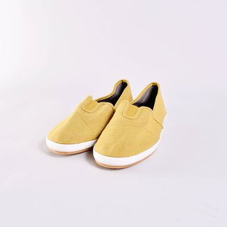 Casual shoes - BELLE mustard yellow