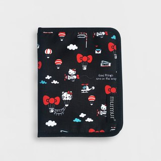 Murmur Passport Holder / Passport Holder - Hellokitty Hot Air Balloon