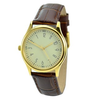 Reverse Watch Gold - Unisex - Free shipping worldwide