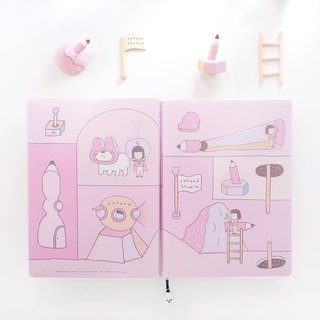 Pink Pencil Planet - Schedule book - C