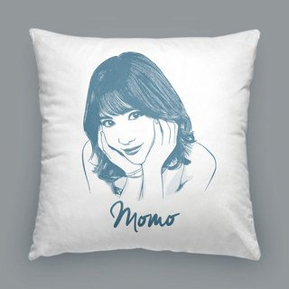 Customized portrait pillow / cushion (simple style)