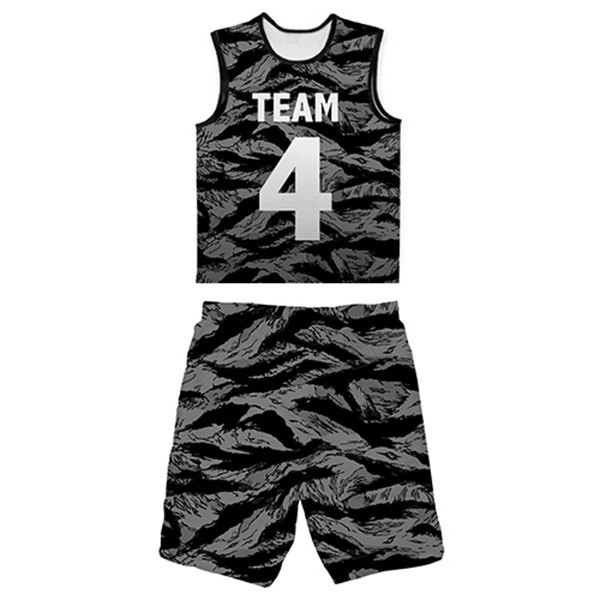 (Tiger Camo) Functional Jersey + Ball Pants (Black)