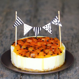 Plus purchase - cake hanging flag