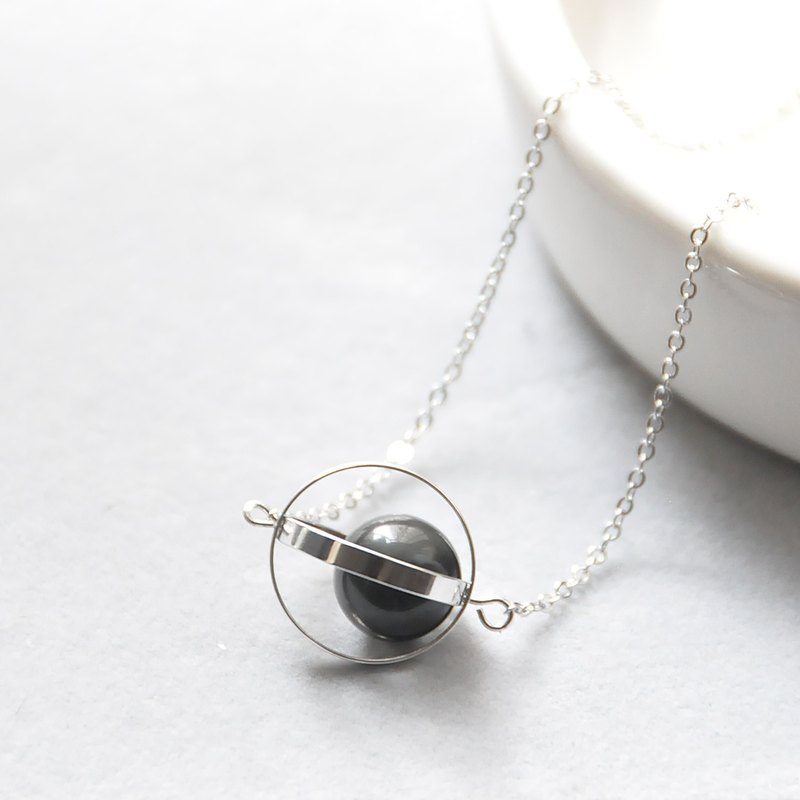 Guarding the planet. universe. Silver ring. obsidian. Necklace Guardian Planet. Galaxy. Sliver Ring. Obsidian. Necklace. birthday present. Girlfriend gift. Sister gift