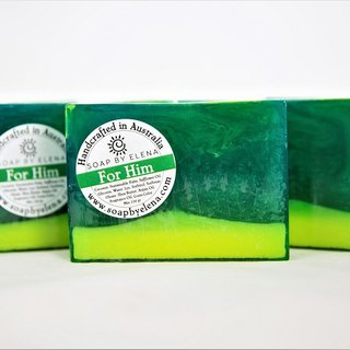 Australia Soap by Elena natural handmade soap - he
