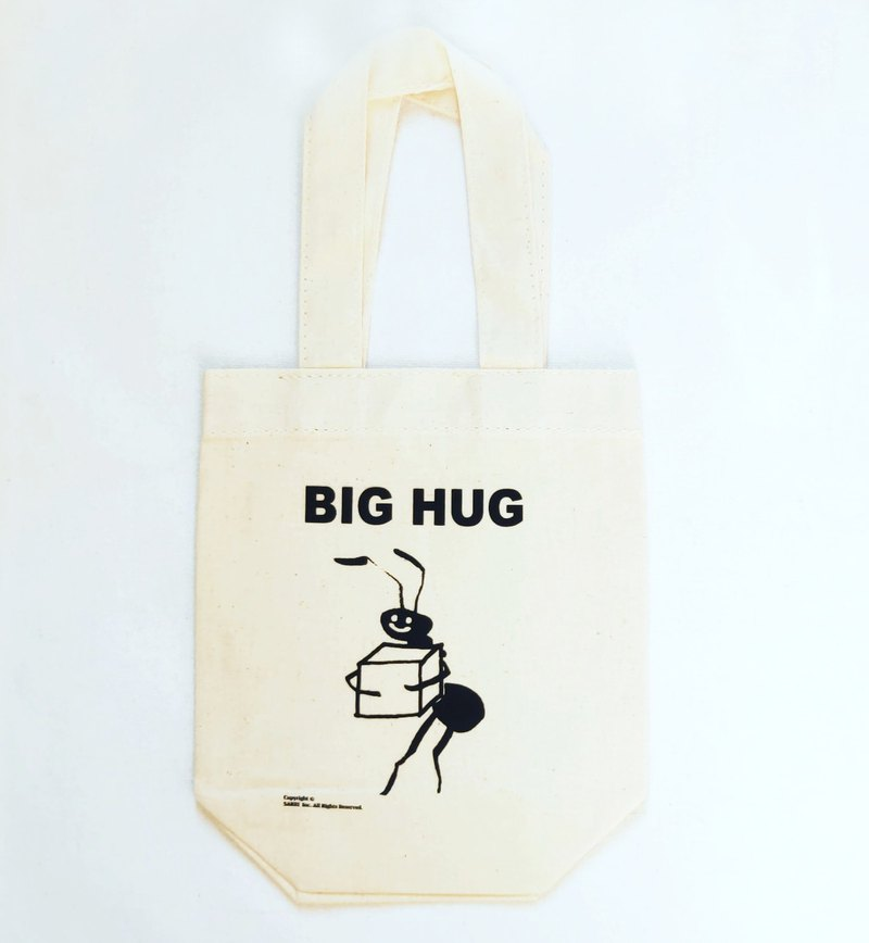 Beverage Bag BIG HUG Canvas Bag Bundle Tote Bag Eco Bag Tote