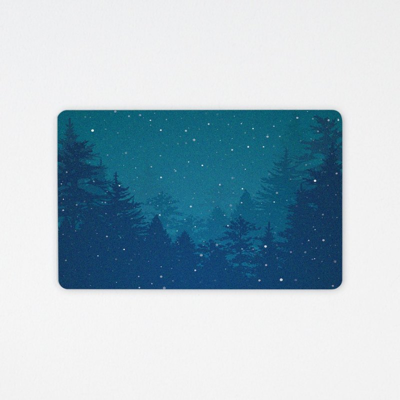 Warm winter / leisure card / card (text custom)