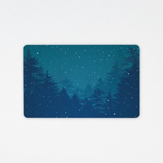 Warm winter | (customize your favorite words) wafer tour card (non-card stickers)