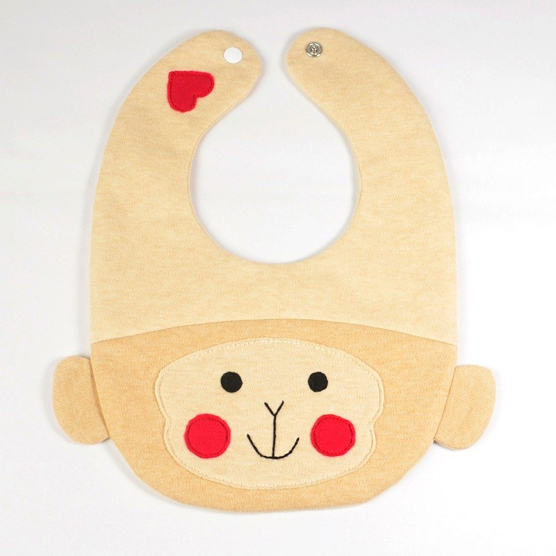 Monkey bib saliva towel