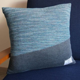 Knotted Pillow - South of the Border - Tropical Eucalyptus Green