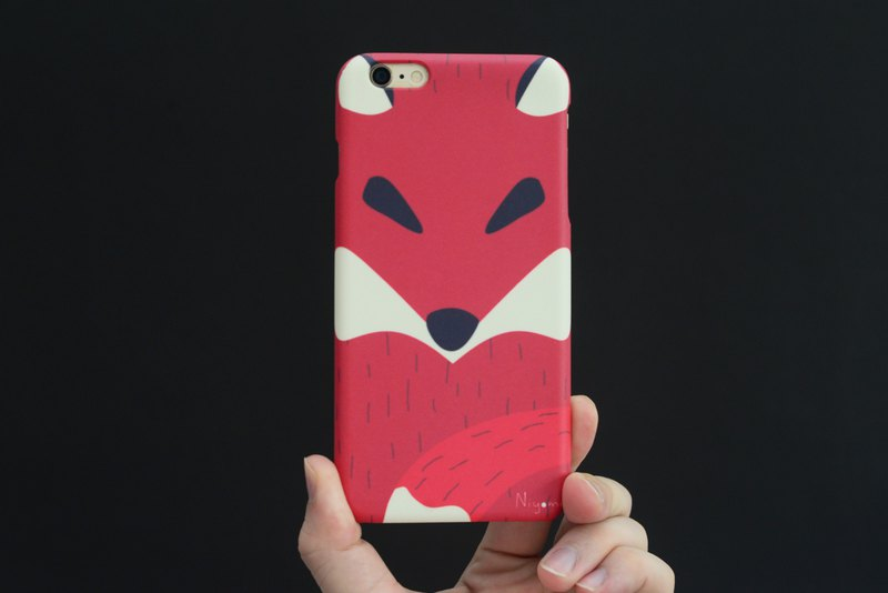 iphone case the red fox for iphone 6,7,8, iphone xs, iphone xs max iphone XR