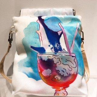 SIR SHARK COCKTAIL Crossbody Bag