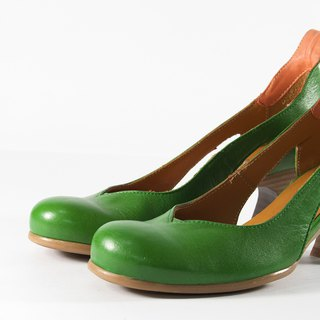 ITA BOTTEGA [Made in Italy] low heel petal shoes