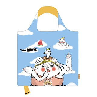 Oh My Goose! eco shopping bag. Reusable shopping bag. Foldable bag.