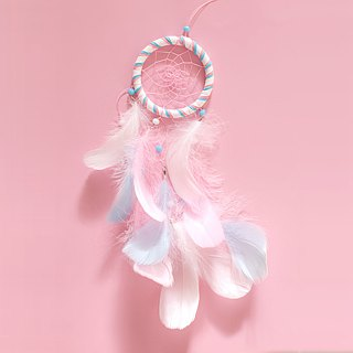 Dream Catcher 8cm - Fantasy Marshmallow (not equal to three colors) - Valentine's Day gift