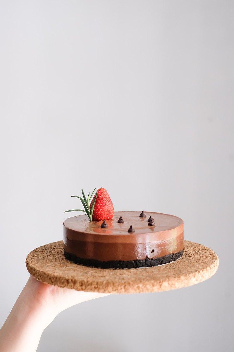 1/2P - 草莓巧克力慕斯(低糖)
