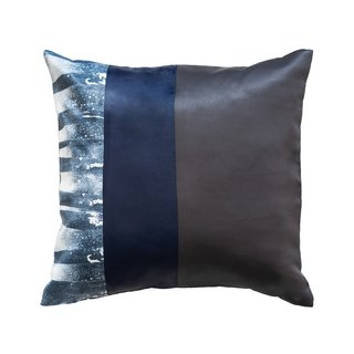 piinpillow - dark navy 16x16 inches pillow cover / 枕頭套 / ピローケース