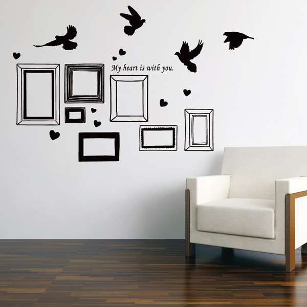 Smart Design Creative wall stickers Incognito ◆ recalled Frame (8 colors)