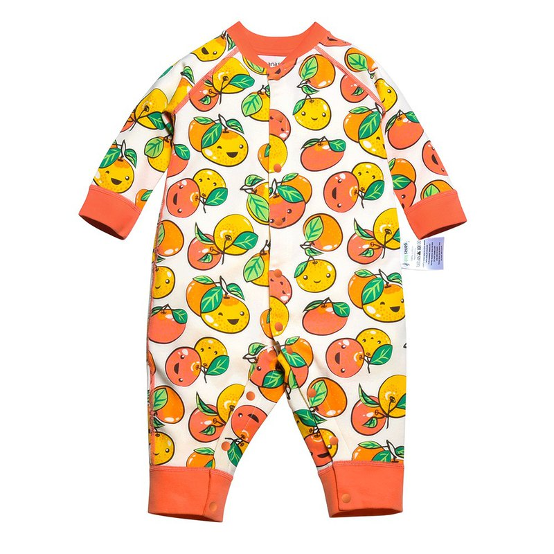 Baby Neutral Baby Romper Lucky Little Mandarin
