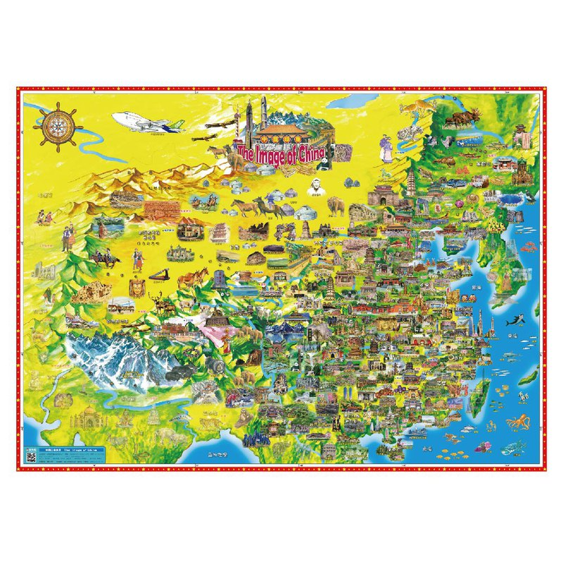 China Impression Map