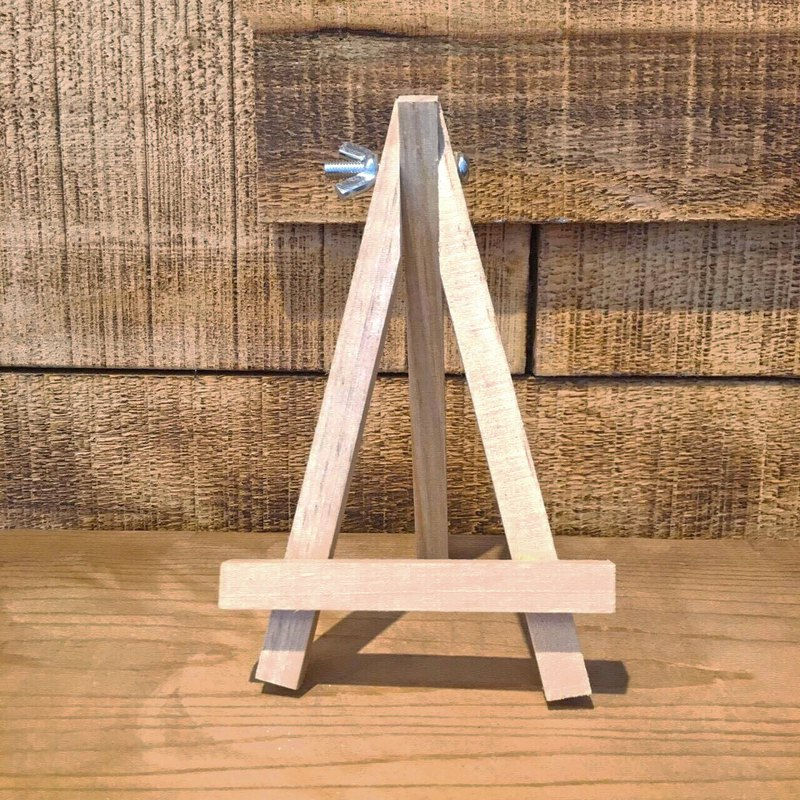Pine mini easel / stand / mobile phone holder / display stand