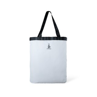 Toflip - Grey Canavas × White Polyester - Double Sided Totebag