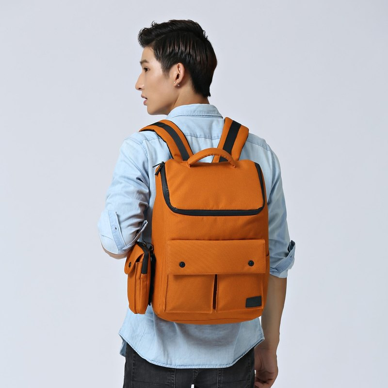 Casual Business Computer Bag Backpack After Backpack Ultra Light Waterproof Dreamer - Orange