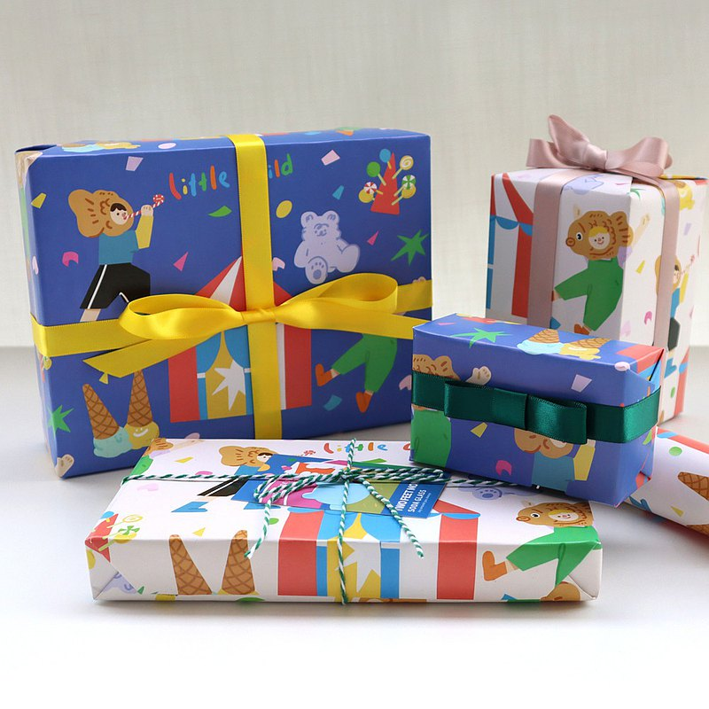 Original children's day gift wrapping paper we are all big children Happy Children's Day