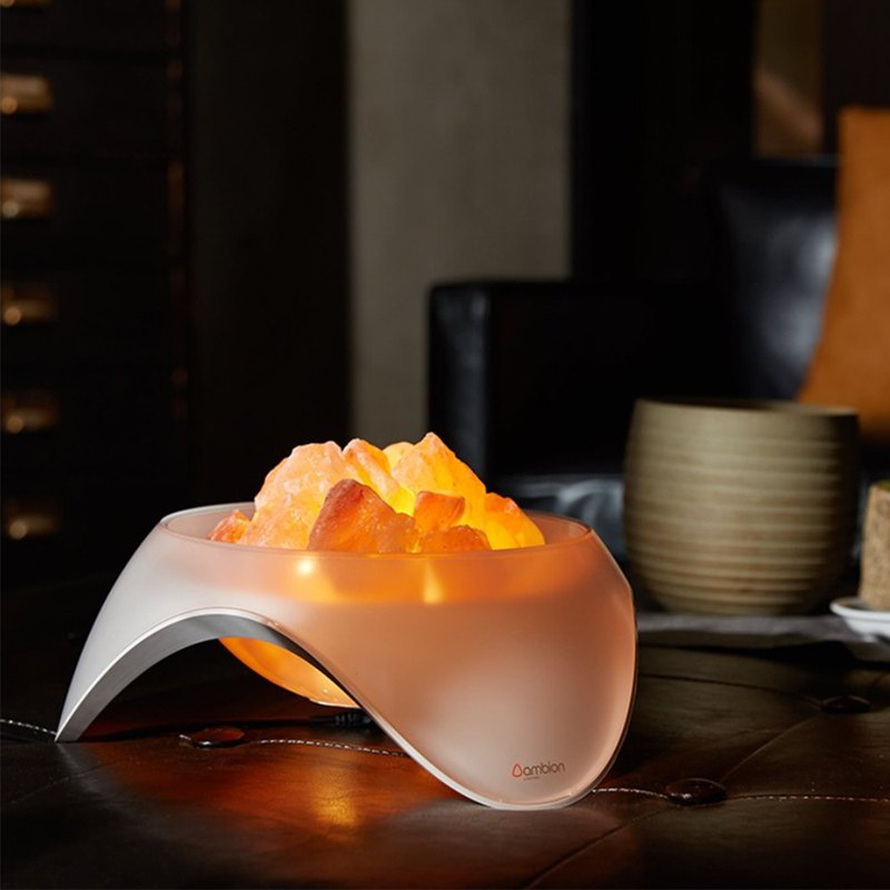 [ambion]KAILASH rose salt shape salt lamp