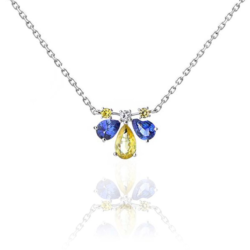 [brilliantia] 10K Blue Bee Series - Necklace A-(PT0260)