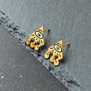 Evil Eye | Mystery Prediction Earrings