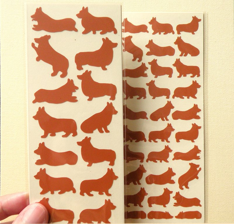 Corgi Stickers