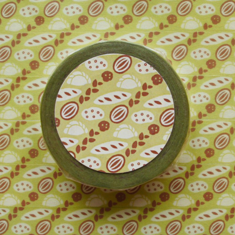 Pattern masking tape Pan / Bread