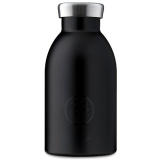 New 24Bottles - Clima Black (330ml) - Stainless steel insulated water bottle