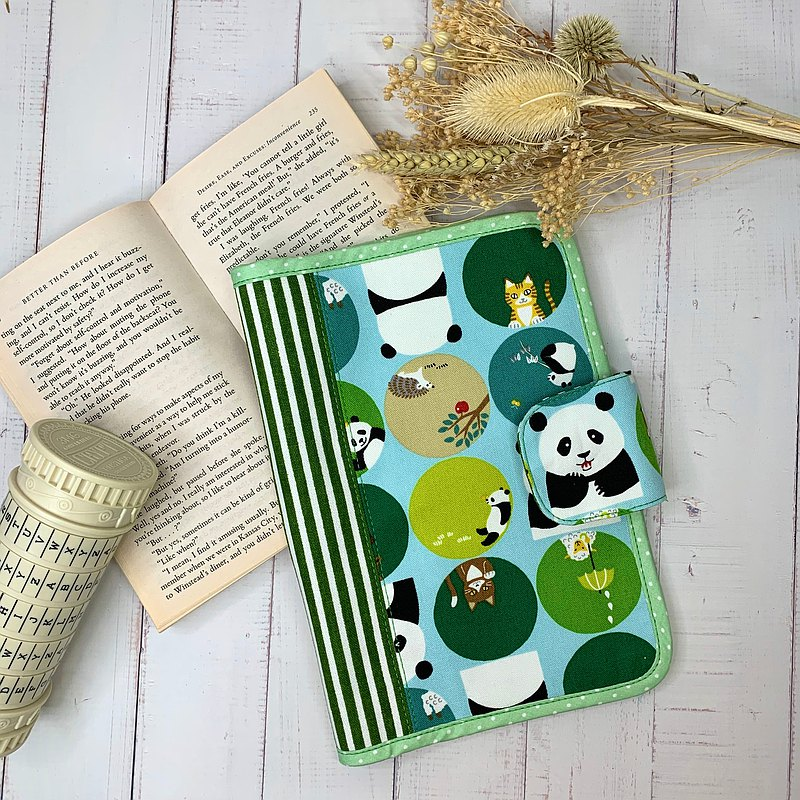 Cute Panda/Baby Handbook/Mom Handbook/A5 Hand Book Cloth