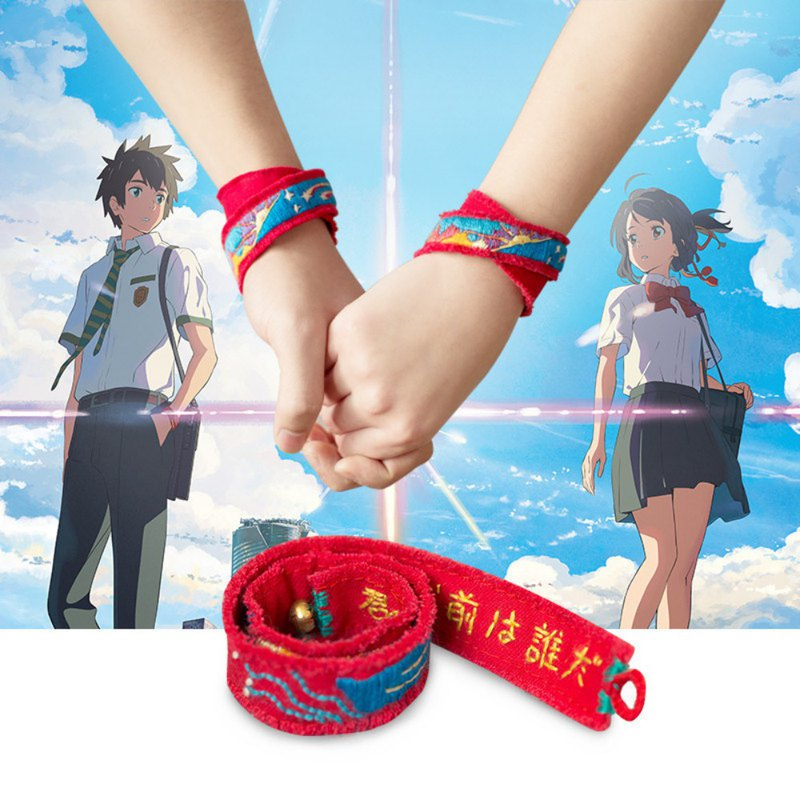 Genuine Authorize your name Anime Peripheral Bracelet Hand rope Headband Hairband New Haicheng with a couple of handmade