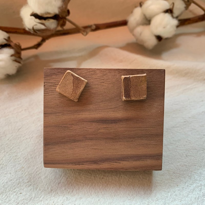 Clay Square Earrings 10