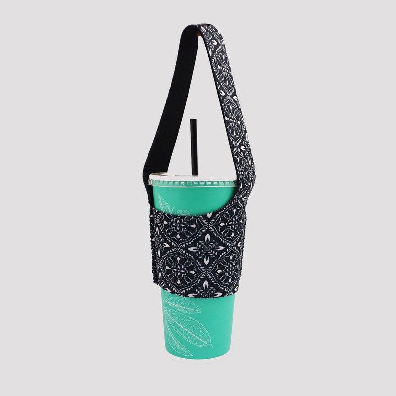 BLR 環保飲料提袋 袋我走 TU09 墨窗花