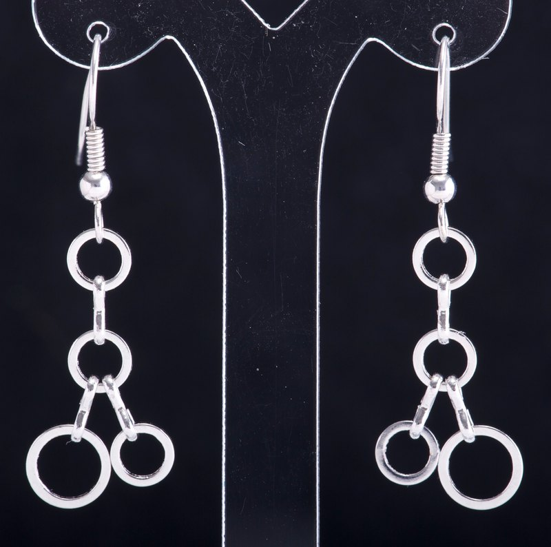 E0177-Own Design-Fashion Sensitive Metal Earrings