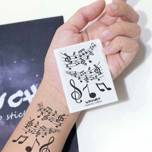 TU Tattoo Sticker - small note / Tattoo / waterproof Tattoo / original / Tattoo Sticker