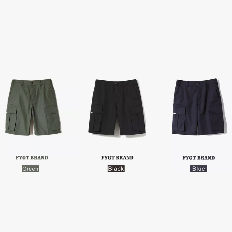 FYGT BRAND military tooling national tide shorts pants loose casual pants