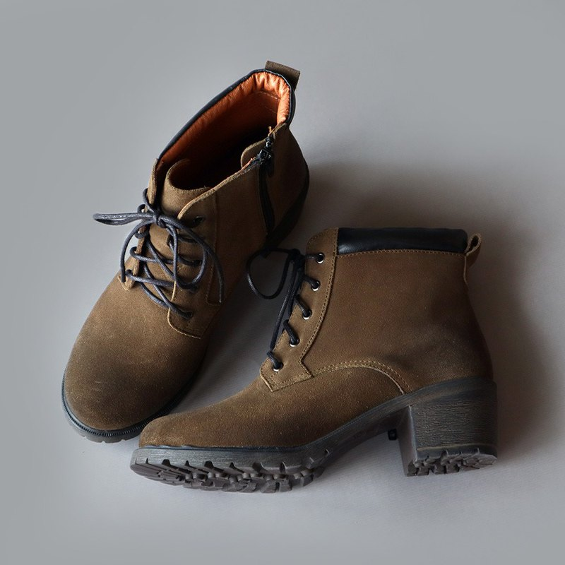 [Early Clear After Rain] Thin Waterproof Boots-Army Green