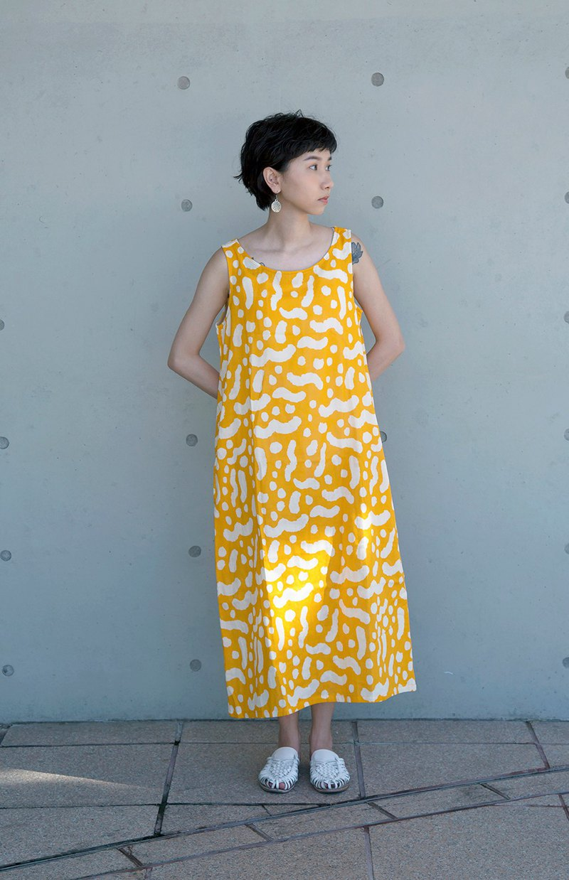 Pattern Design-Sleeveless dress / Do the right things