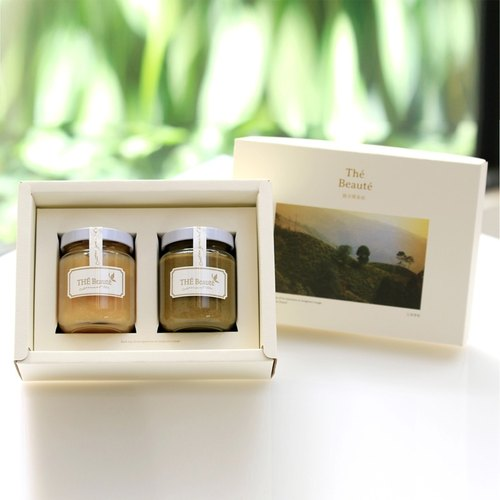 Tie Guan Yin tea fragrant honey guava jam + n cong Tieguanyin wiping milk jam sauce Gift Set handmade without preservatives